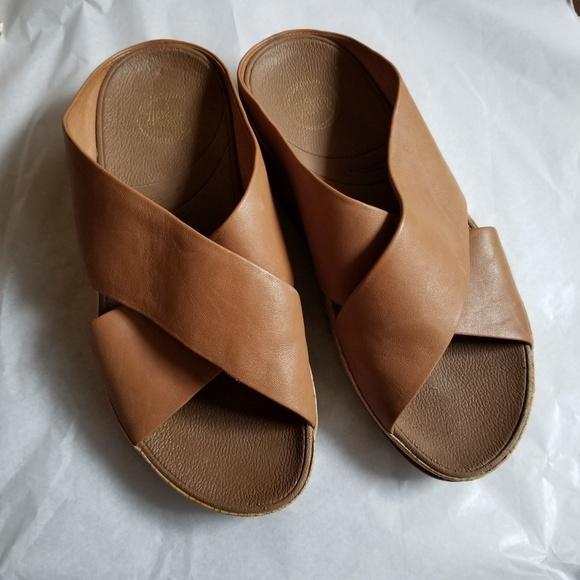 de1f78a00d7b Fitflop Shoes - FITFLOP KYS CARAMEL LEATHER sandals